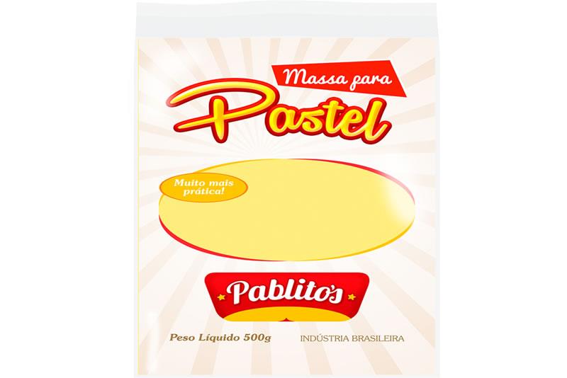 Massa para Pastel - Quadrada 500g